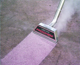 Carpet  Cleaners Essex carpet being cleaned  showing the contrast